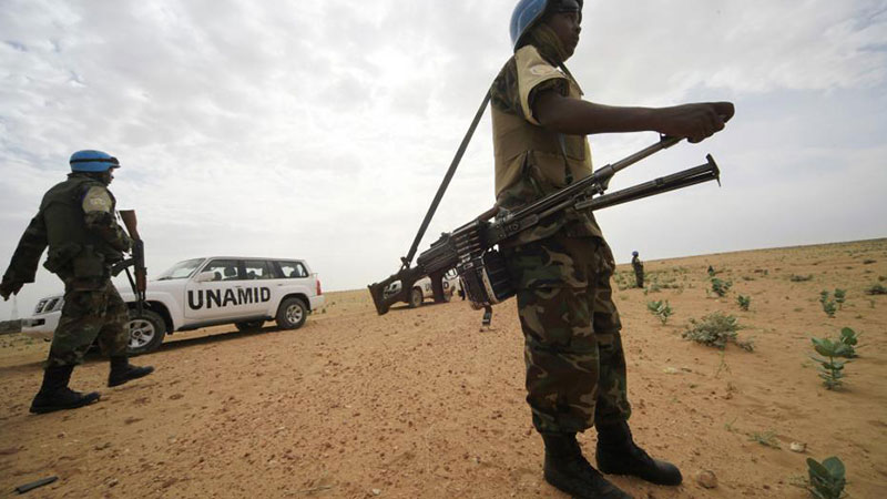 promote and protect human rights in Darfur region Sudan